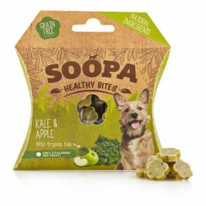 Soopa Organic Kelp Healthy Bites Senior Dog Treats