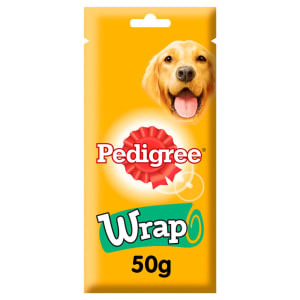 Pedigree Small Adult Dog Wrap Treats - Chicken