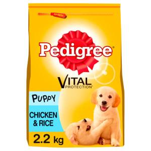 Pedigree Puppy Medium Dog Complete Dry Dog Food - Chicken & Rice