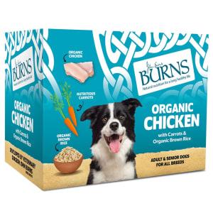 Burns Adult Wet Dog Food Pouches - Chicken