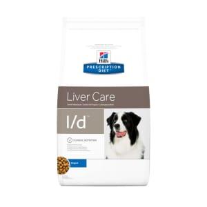Hills Prescription Diet Gezondheid van de lever l/d voor honden