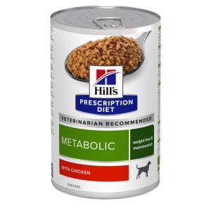 Hill's Prescription Diet Metabolic Weight Management Wet Dog Food - Chicken