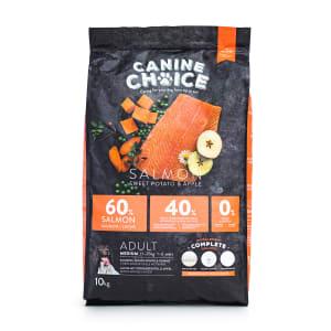 Canine Choice Grain Free Medium Adult Dry Dog Food - Salmon