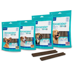 Virbac Veggiedent Snacks Dog Treats - Large Dog