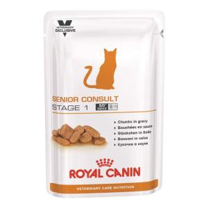 Royal Canin Senior Consult Stage 1 voor katten (natvoer)