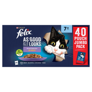 Felix As Good As It Looks 7+ Mixed Cat Food