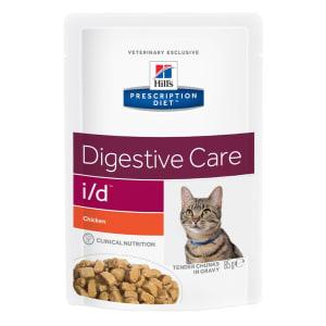 Hill's Prescription Diet Digestive Care i/d Adult Wet Cat Food in Gravy - Chicken