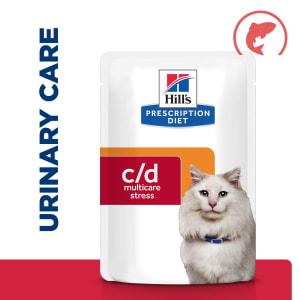 Hill's Prescription Diet Urinary Care c/d Urinary Stress Adult Wet Cat Food - Salmon