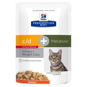 Hill's Prescription Diet Feline c/d Urinary Stress + Metabolic Aliment santé pour chat