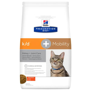 Hill's Prescription Diet Kidney k/d + Mobility Joint Care Dry Cat Food - Chicken