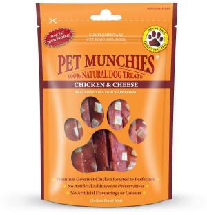 Pet Munchies Dog Treats - Chicken & Cheese