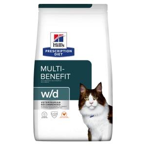 Hill's Prescription Diet Digestive/Weight Management w/d Adult Dry Cat Food - Chicken