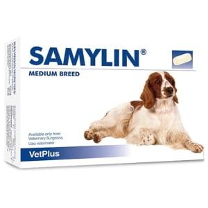 Samylin Liver Support Tablets for Medium Dog