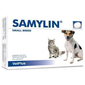 Samylin Liver Support Tablets for Small Dog