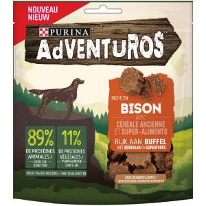 Adventuros Snacks riche en Bison aux céréales anciennes et super-aliments
