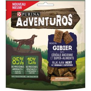 Adventuros Snacks riche en Gibier aux céréales anciennes et super-aliments