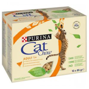 Purina Cat Chow Adult - au Poulet at aux Courgettes