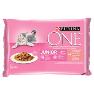 Purina One Chat Junior - de 1 à 12 mois -au Saumon