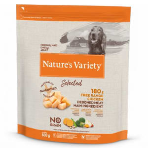Nature's Variety Selected Medium/Large Adult Dry Dog Food - Free Range Chicken