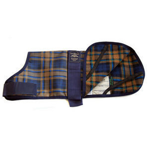 Animate Camel Watch Tartan Dog Coat