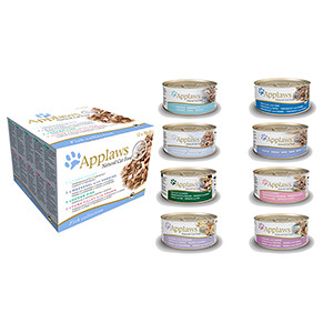 Applaws Natural Natvoer voor Katten (Vis)