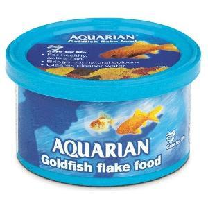 Aquarian Goldfish Flakes