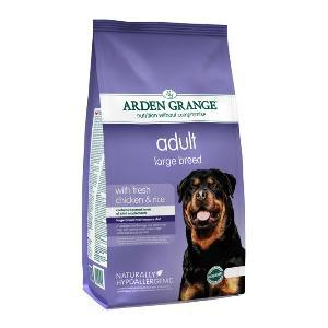 Arden Grange adult hond large breed kip & rijst