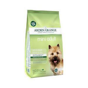 Arden Grange hond adult mini lam & rijst