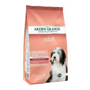 Arden Grange hond adult zalm & rijst