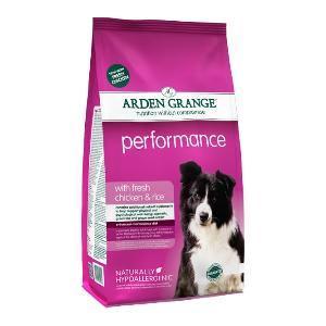 Arden Grange hond performance kip & rijst