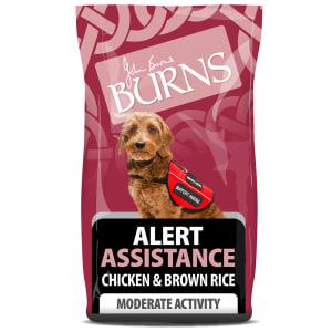 Burns Alert Hundefutter Huhn und Naturreis