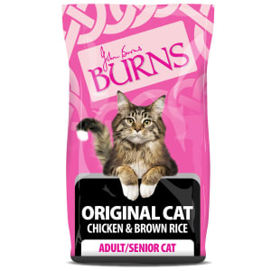Burns Original Chat Adult & Senior - Poulet & Riz brun