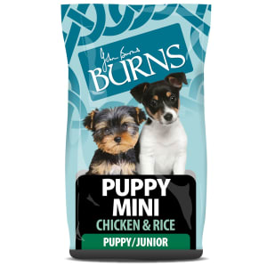 Burns Puppy Mini Chiot - Poulet & riz