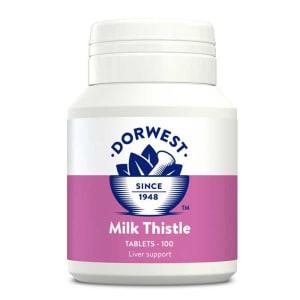 Dorwest Milk Thistle Tabletten für Hunde & Katzen