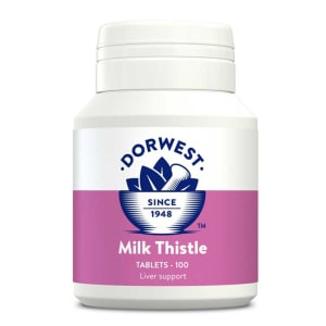 Dorwest Milk Thistle tabletten