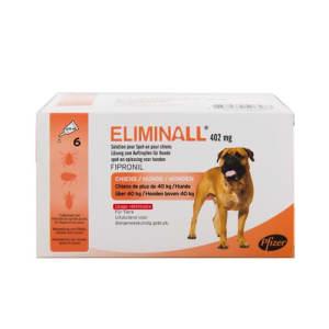 Eliminall Spot On voor honden