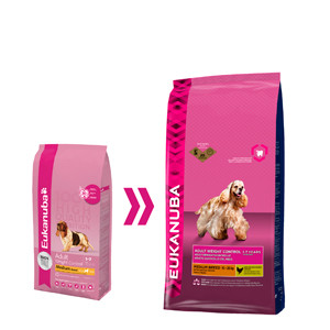 Eukanuba Adulte Weight Control - Moyennes Races