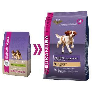 Eukanuba Puppy & Junior (Lam & Rijst)
