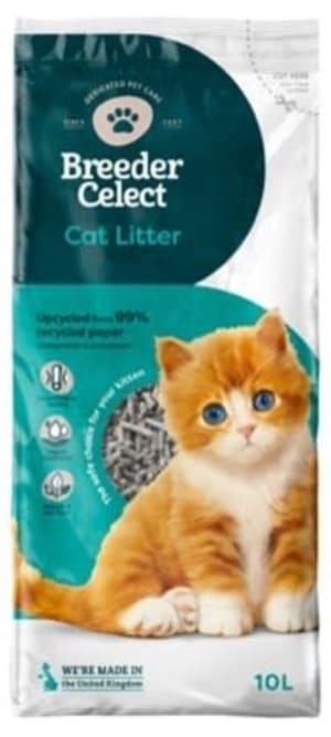 Fibrecycle Breeder Celect Katzenstreu aus 100 % recyceltem Papier