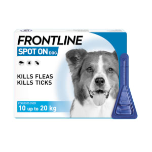 Frontline Spot On Flea & Tick Treatment for Medium Dogs (10-20kg)