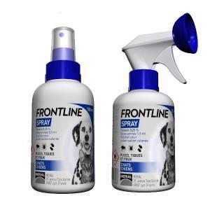 Frontline Spray - Antiparasitaire pour chien et chat