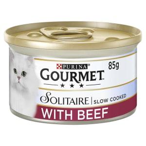 Gourmet Solitaire Cat Food