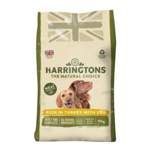 Harringtons Chien Adulte - Dinde & Légumes