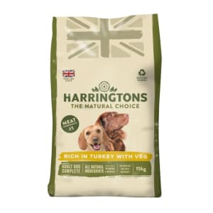 Harringtons Complete Adult Dry Dog Food - Turkey & Vegetable