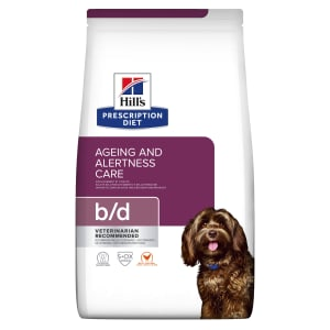 Hill's Prescription Diet Brain Aging Care b/d Dry Dog Food - Chicken