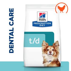 Hill's Prescription Diet Dental Care t/d Mini Dry Dog Food - Chicken