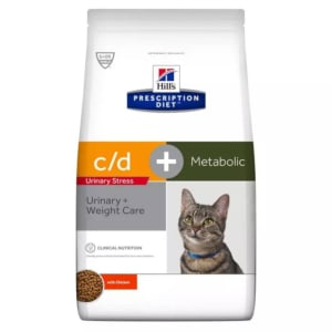 Hills Prescription Diet c/d Urinary Stress Reduced Calorie Katzenfutter
