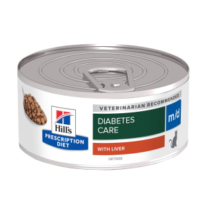 Hill's Prescription Diet Diabetes/Weight Management m/d Adult Wet Cat Food - Minced Liver