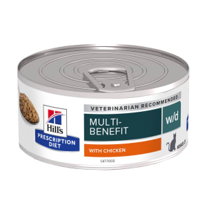 Hills Prescription Diet w/d voor katten