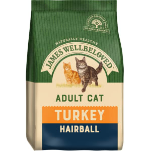James Wellbeloved Turkey & Rice Hairball